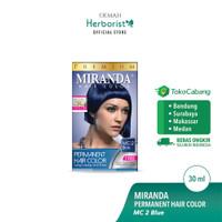 Miranda Hair Color (Cat Rambut Permanen) MC2 Blue 30ml
