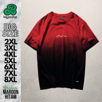 Baju Kaos Gradasi Jumbo Pria Big Size Oversize xxl xxxl 4xl 5xl 6xl 7L