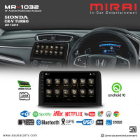 Headunit Android 10 inch CRV Turbo 2017-2019 Mirai 1032