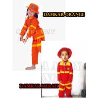Baju Damkar Pemadam Kebakaran Anak