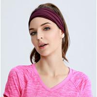 Headband / Bandana Ice Silk ALCIOUS cocok untuk olahraga & sehari-hari - Merah