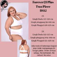 FOREVER 21 PLUS. Baju renang big size. BK62