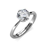 Le Estelle Ring - Cincin Moissanite diamond Celesta by Her Jewellery
