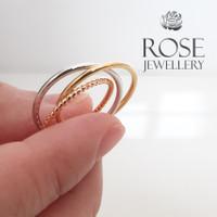 [ 100% Real Pic ] Rose Cincin Warna Emas dan Silver Nomor CMPD005 - 6