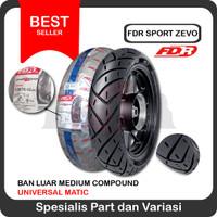 FDR 120/70-12 Sport Zevo Ban Tubeless Motor New Scoopy Vespa Ring 12
