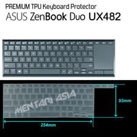 Keyboard Protector ASUS ZenBook Duo UX482 - PREMIUM TPU Clear