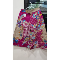 Celana Batik Kulot Premium (Panjang 7/8 , Motif AC & AD) - AC 2XL, Fuschia