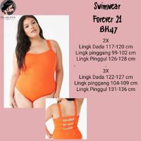 FOREVER 21 PLUS. Baju renang big size. BK47