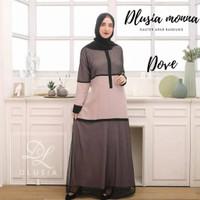 ORI DLUSIA MONNA maxi dress arab/india/dubai/turki busui katun rayon