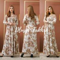 ORI DLUSIA FAKHRA maxi dress arab/india/dubai/turki busui katun rayon