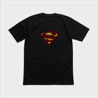KAOS SUPERMAN - Hitam, M
