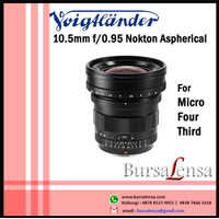 Voigtlander 10.5mm f/0.95 Nokton Lens for MFT (Micro Four Thirds)