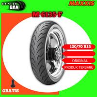 Ban Depan Motor YAMAHA XMAX - HONDA FORZA MAXXIS M6135F 120/70 Ring 15