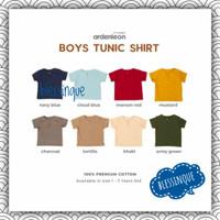 Ardenleon Boy Tunic Shirt - Baju Koko Anak Size M-5L (1-7 tahun)
