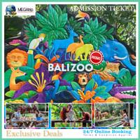 BALI ZOO PARK - Voucher Entrance Fee