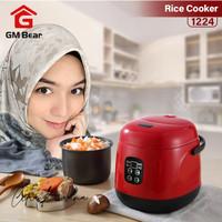 GM Bear Penanak Nasi 1.2L 1224-Mini Rice Cooker 1.2 Liters