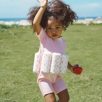 Summertide Girls Short Sleeve Floatsuit   Baju Renang Pelampung Anak