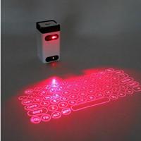Keyboard Proyeksi Laser Virtual Wireless Bluetooth Mini Portable