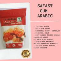 Gum Arabic Safast Asli Herbal Obat Penyakit Gum Arab Getah Akasia