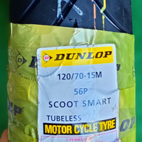 Ban Luar Dunlop 120 70 RING 15 MOTOR YAMAHA XMAX TUBLES 12070 Ring15