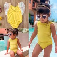 Bikini bayi 3bln-4thn Peri Sayap swimsuit anak perempuan