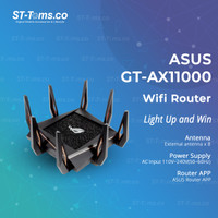 ASUS ROG Rapture GT-AX11000 / GT AX11000 Tri-Band Gaming WiFi 6 Router