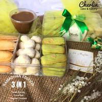 Parsel Ramadan / Idulfitri Kue Kering Hampers - 3in1 Cherlin