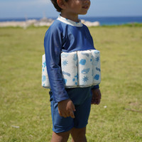 Summertide Boys Long Sleeve Floatsuit   Baju Renang Pelampung Anak