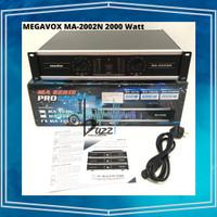 Power Amplifier MEGAVOX Original MA 2002 N 2000 Watt