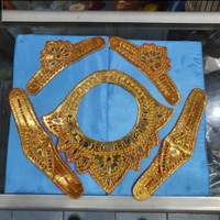 badong kalung,gelang tangan,&gelang bahu khas tari bali