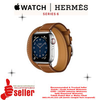 Apple Watch Series 6 Hermes Silver Stainless Steel with Double Tour