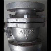 Ball Valve KITZ JIS 10K cast iron - ukuran : 2 1/2 (inch), JIS 10K-65