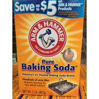 Pure baking soda 907g/Pure baking soda/Baking soda 907g/arm&hammer 907