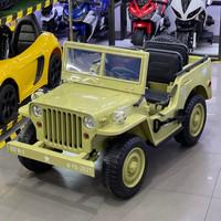 Mobil Aki Anak Jeep Willy