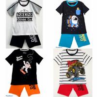 Setelan kaos baju anak laki laki size 1 2 3 4 5 6 7 8 9 10 tahun #2250