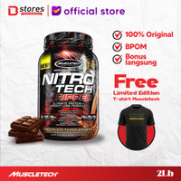 Muscletech Nitrotech Ripped 2lb Whey Protein Bstores Limited Edition