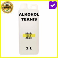 Alkohol teknis 96% / Etanol 96% 1 Liter ( Disinfektan , Antiseptic )