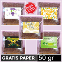 Bako Tembakau Rasa buah kemasan 50 gr Free Papir 1 buku