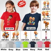 Kaos / Baju Anak Upin Ipin [Unisex] - 10 Motif/Design -