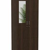 pro design lemari pakaian lemari baju 2 pintu kaca