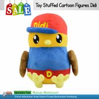 ONTY Toy Stuffed Cartoon Figures Didi - Boneka Premium Didi & Friends