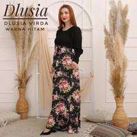 ORI DLUSIA VIRDA maxi dress arab/india/dubai/turki busui katun rayon