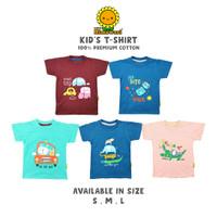 Himawari Baju Kaos Anak Premium Katun T-Shirt Unisex - BAGIAN 1