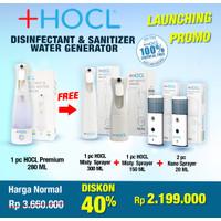 +HOCL DISINFECTANT & SANITIZER WATER GENERATOR | BOTOL PENGHASIL HOCL