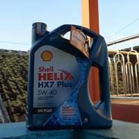 Oli Mobil Shell Helix HX7 5w40 SN PLUS DISTRIBUTOR RESMI