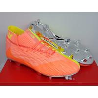 Sepatu Bola - Soccer Puma Future 5.1 Netfit Peach Fizzy Yellow - FG