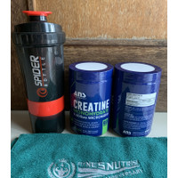 ANS CREATINE MONOHYDRATE 300 gram suplemen fitness otot muscle strong