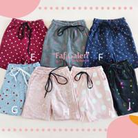 Ciky Cargo 2-10 Thn Celana Pendek Anak Perempuan Bahan Premium