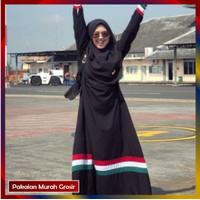 Gamis Wanita Baju Muslim Palestina Size JUMBO XXXL Busui Friendly