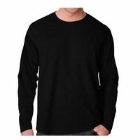 Kaos Pria Lengan Panjang POLOS T-shirt Distro Baju Pria/ObLong Pjg